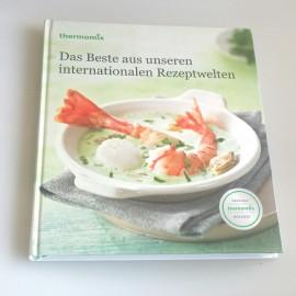 """Kochbuch""""DAS BESTE AUS UNSEREN INTERNATIONALEN REZEPTWELTEN"""" für TM31"""