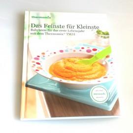 """Kochbuch""""DAS FEINSTE FUR KLEINSTE"""" für TM31"""