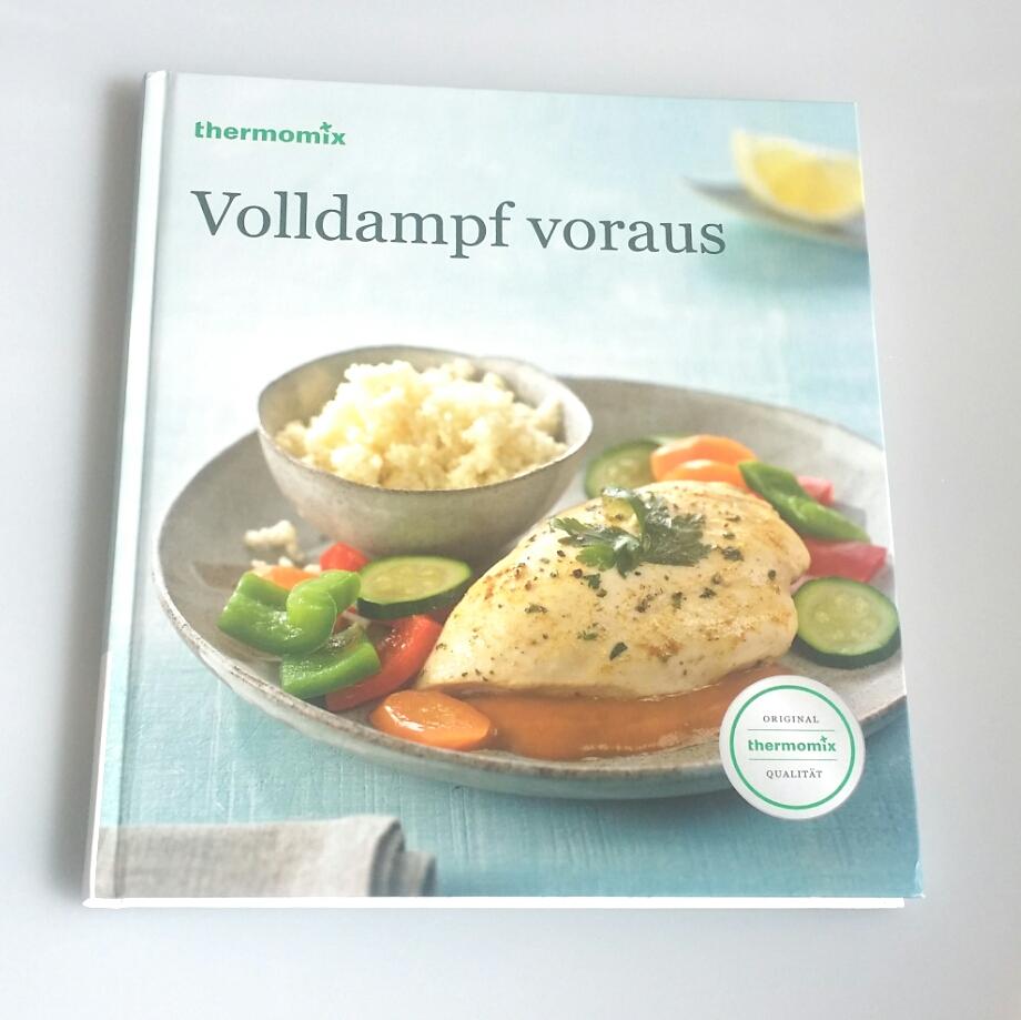 """Thermomix Tm5 Gebraucht: Kochbuch""""VOLLDAMPF VORAUS"""" Für TM31"""
